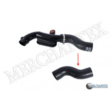 (51960154 68256166AA) FIAT JEEP Turboschlauch 3 Fach Polyester verstärkt